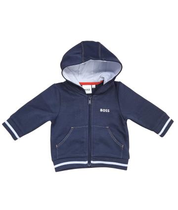 T-Shirt manica corta- blu- stampa e logo frontale- Manuel Ritz