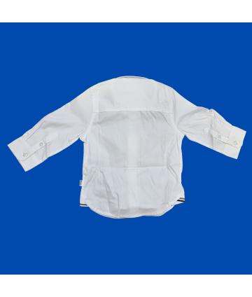 Pantalone elasticizzato - Blu - Manuel Ritz