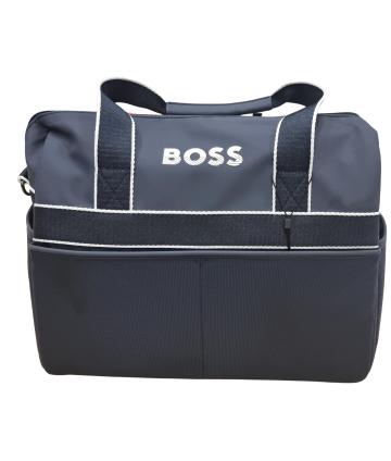 Bermuda rosso- logo blu- Fay