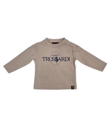 T-Shirt blu- logo bianco- Replay