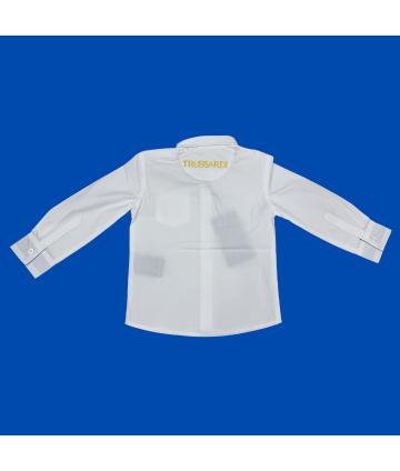 Felpa rossa- manica lunga- logo- Replay