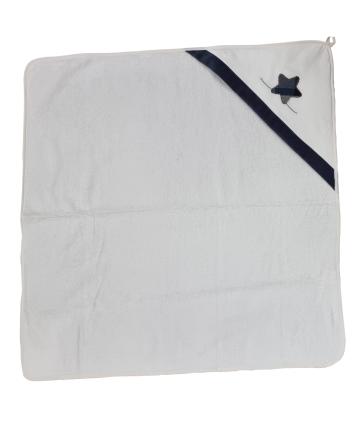T-Shirt blu- manica corta- logo strass- Gaudì
