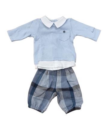 Maglia bianca- fantasia rose- Gaudì