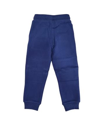 Felpa nera- manica lunga- logo bianco- Replay