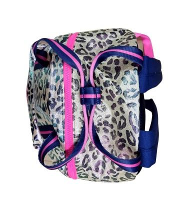 T-Shirt azzurra- stampa centrale- Vicolo