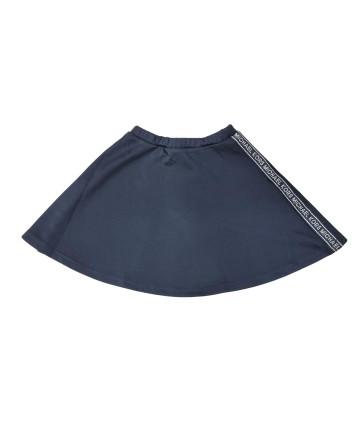 Shorts nero- logo pailettes- Freddy