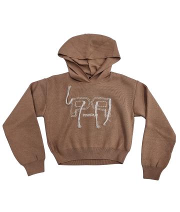 T-Shirt- stampa- manica volantino- Elsy