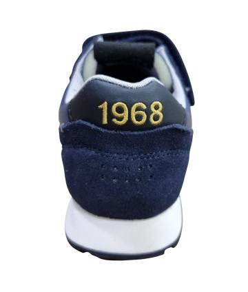 Polo bianca- colletto giallo fluo- Peuterey