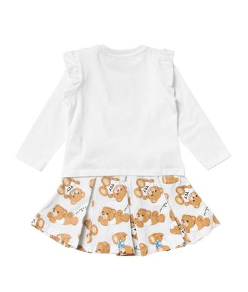 Pantalone vita alta- stampa laterale- Liu Jo