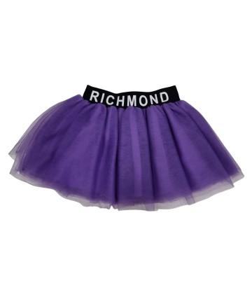 Pantalone largo in jeans- Billieblush