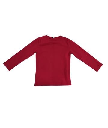 Coperta prima nascita- bimba- cuore tulle- Cardinale