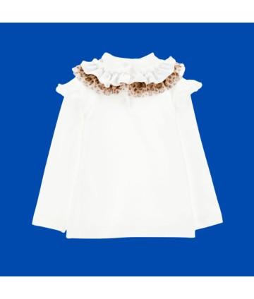 Sandalo bimba- dorato- fiocco- Clarys