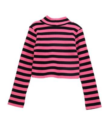 Short bianco bimba - cintura a righe - Ralph Lauren