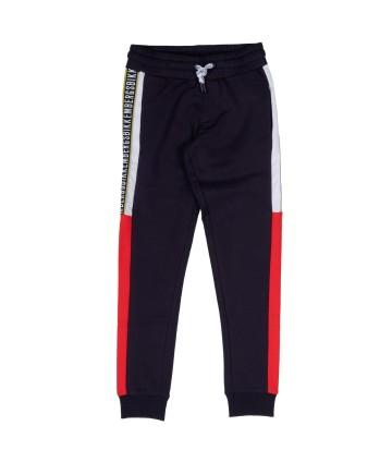 Pantalone bimba- fantasia righe- EMC