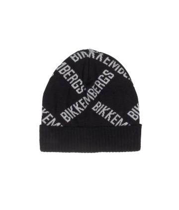 Cappellino prima nascita bimbo - azzurro-EMC