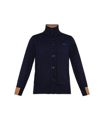 Shorts in felpa- bianco- logato- Antony Morato