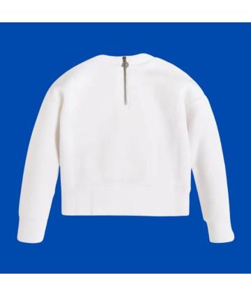 T-Shirt- bianca- regular- logata- Antony Morato