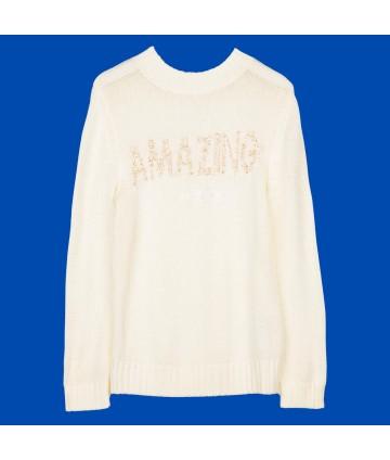 T-Shirt- regular - stampa bianca- Antony Morato