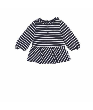T-shirt -bianca- logata- Guess