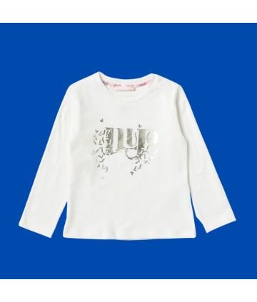 T-shirt baby- albero- bianca- Timberland