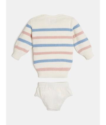 T-shirt- bianca logata- Trussardi
