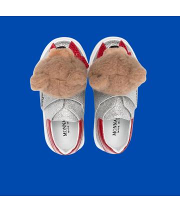 T-Shirt- bianca- logata- Bikkembergs