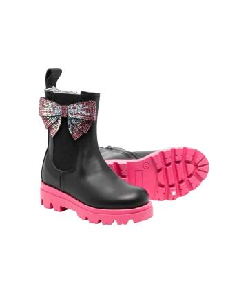 T-shirt -rossa- Logata- Bikkembergs