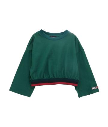 Shorts bimba- fiori rossi- Y-Clu