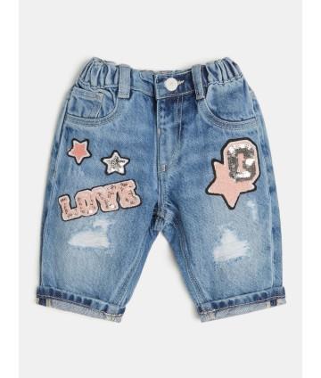 Pantalone blu- Fay