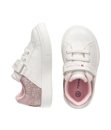 T-Shirt bianca- Adias