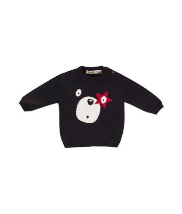 Tutina prima nascita- bianca- orsetto