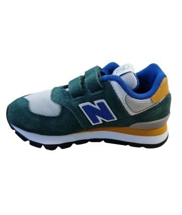 T-Shirt blu - bande rosse- logata- Trussardi