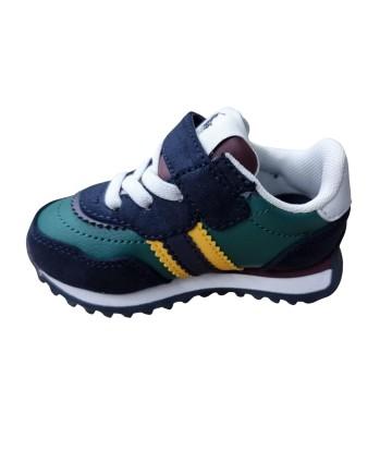 Camicia bianca lino- logo blu- Trussardi