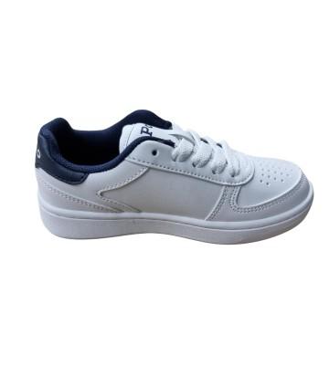 T-Shirt bianca- manica corta- logata- Peuterey