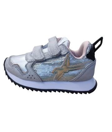 Sneakers- argento- W6YZ